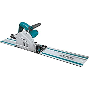 Makita SP6000J1 6-1/2  Plunge Circular Saw Kit with Stackable Tool case and 55  Guide Rail