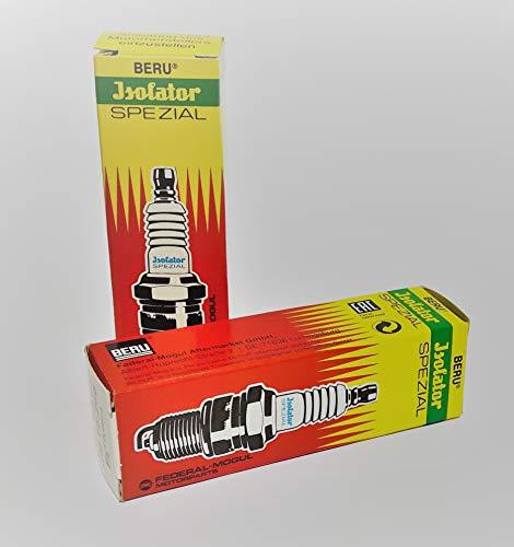 2er Set Isolator Zündkerze M14 x 260 Spezial pass. für alle Simson, z.B. S51 SR50 Schwalbe , MZ ETZ