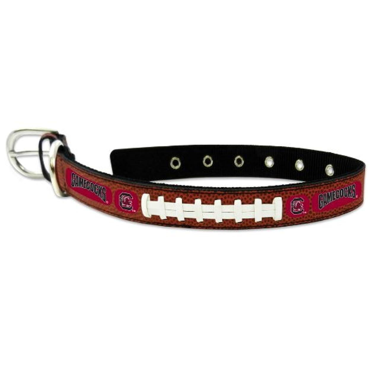 格差状況モスクSouth Carolina Gamecocks Classic Leather Medium Football Collar