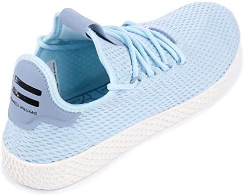 adidas Originals Men's Pharrell Williams Human Race Ice Blue/Ice Blue/Blue 10.5 D US