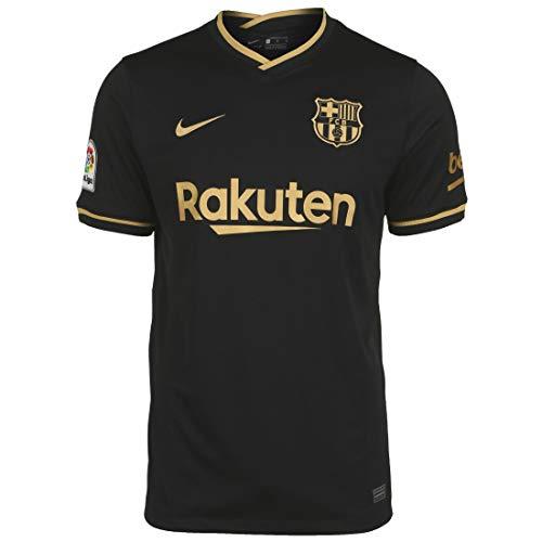 Nike FC Barcelona Maillot extérieur Taille L Noir