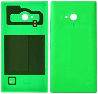 Battery case Jrc Battery Back Cover for Nokia Lumia 730(Black) Mobile phone accessories (Color : Green)