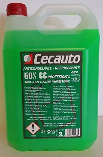 Cecauto anticongelante 50% g12 Verde organico