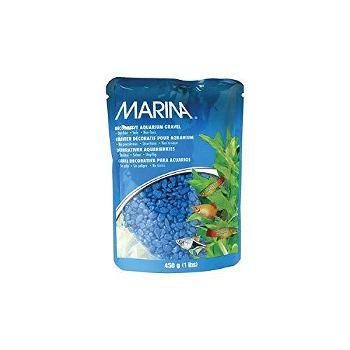 Marina Decorative Aquarium Gravel, 450 g, Blue