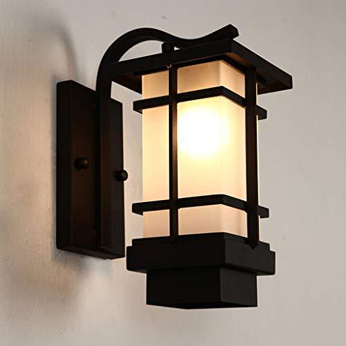 WYBFZTT-188 Lámpara de Pared de Estilo Europeo Impermeable y a Prueba de Herrumbre para Exteriores, lámpara de Patio, Puerta de balcón, lámpara LED Retro, Estilo Simple