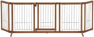 リッチェル ペット用 木製おくだけドア付ゲート L ブラウン L サイズ