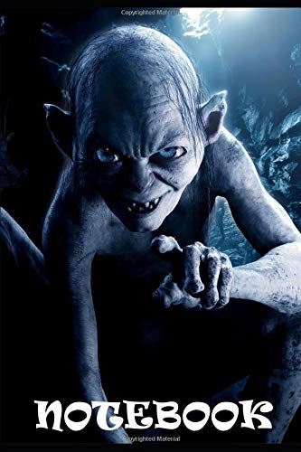 Notizbuch - Notebook »Der Herr der Ringe« Gollum »The Lord of the Rings« A5