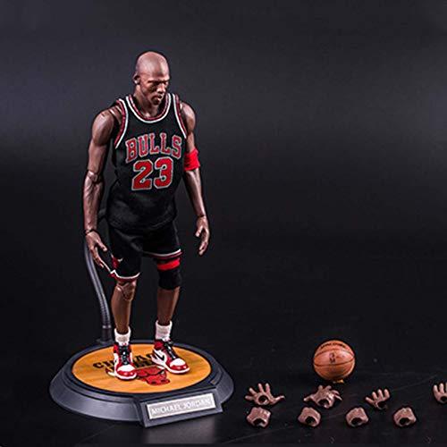 ZH NBA Basketball Star NO.23 Michael Jordan Figuras De Acción 1/6 Estatua De Juguete Modelo Recuerdo De Colección Adornos Decorativos Cumpleaños Navidad Halloween Regalos