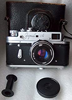ZORKI-4 USSR Soviet Union Russian 35 mm Leica Copy rangefinder Film Camera with Industar 61