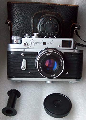 ZORKI-4 USSR Unión Soviética Rusa 35 mm Leica Copy Rangefinder Cámara de película con Industar 61