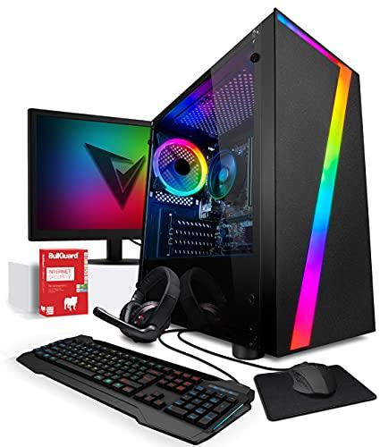 Vibox I-36 Gaming PC - Pack Monitor - Quad Core Ryzen Procesador - Radeon Vega 8 Gráficos - 16Gb RAM - 1Tb Disco Duro - Windows 10 - WiFi