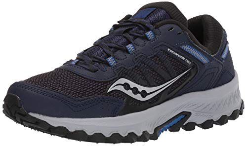 Saucony Men's Versafoam Excursion TR13 Road Running Shoe, NAVY, 10.5 M US