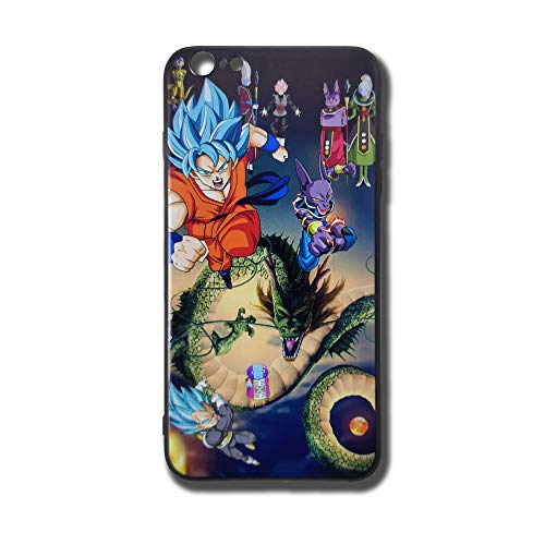 Dragon Ball Super Blue Vegito Beerus Phone Case for iPhone 6 Plus