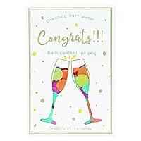 ノルコーポレーション グリーティングバスペタル Congrats!!! 12パック BOBGTP0106