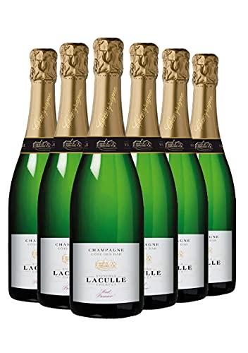 Champagne Laculle Brut Premier - Vino Francese - 0.75L (6 Bottiglie)