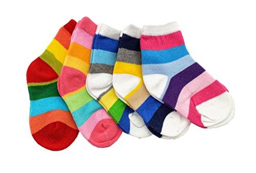 Colourful Baby World - Chaussette - Bébé (garçon) 0 à 24 mois Multicolore Bigarré