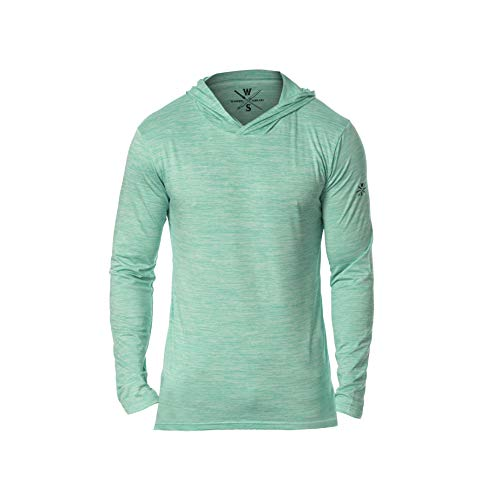 Warriors & Scholars Hoodie for Men - Mens Workout Gym Pullover Sweatshirt