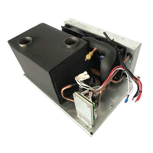 12V Compact Refrigeration Cooling Systems Air Conditioning Systems with Miniature Rotary Compressor - for Electric Vehicle Chiller Water Dispenser Freezer Electronics Cooling Module DIY (12V,1.9cc)