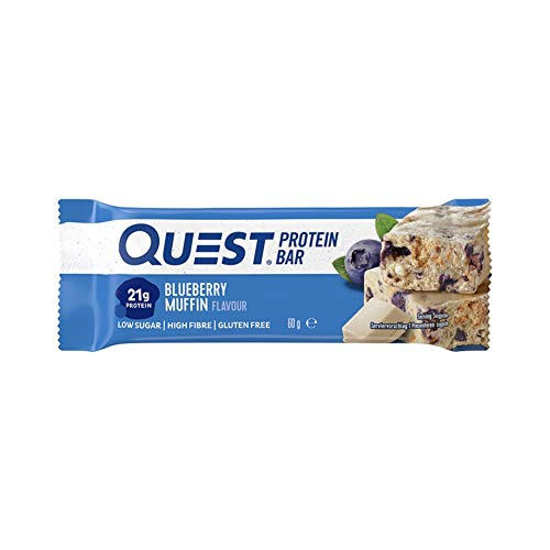 Quest Nutrition bars, White Chocolate Blueberry Muffin, 60 g