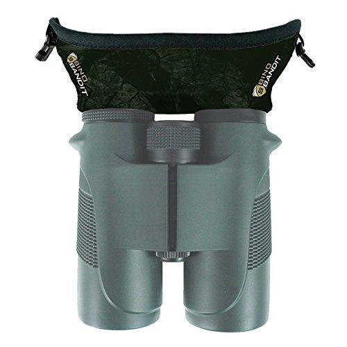 Slicker Bino Bandit - Blocks Glare, Improves Visual Acuity and Reduces Eye Fatigue. FITS All Binoculars. (Stealth Olive)