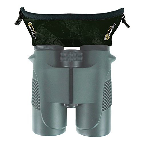 Slicker Bino Bandit - Blocks Glare, Improves Visual Acuity and Reduces Eye Fatigue. FITS All Binoculars. (Stealth Olive)