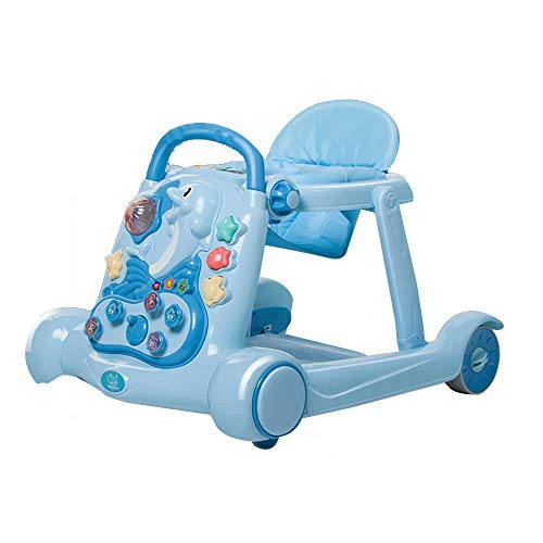 Great Features Of Quisilife Activity Walker 2-in-1 Baby Walker Rollover Prevention Folable Learning ...