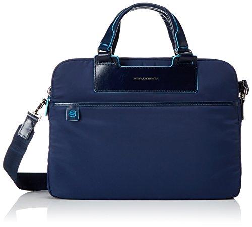 Piquadro Celion Cartellina, Nylon, Blu, 39 cm