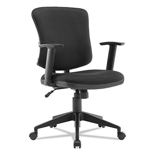 Alera Everyday Task Office Chair, Black Fabric