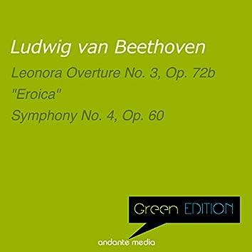Green Edition - Beethoven: Leonora Overture No. 3, Op. 72b & Symphony No. 4, Op. 60