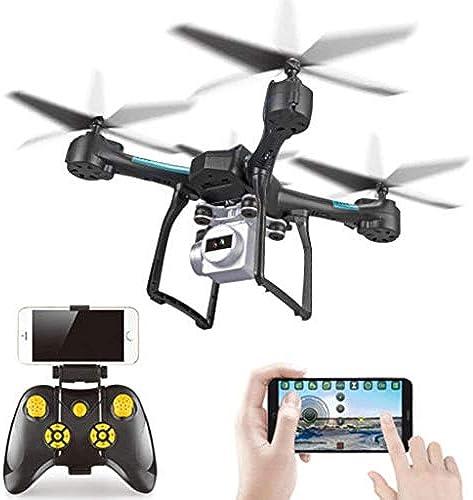 1080P Kamera Drone GPS FPV RC Drone Mit Kamera Live Video Und GPS Return Home Quadcopter Mit Einstellbarer Weißwinkel 1080P HD WIFI Kamera (Farbe   schwarz)