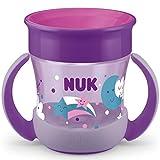 NUK Mini Magic Cup Night taza para sorber | Borde a prueba de derrames de 360° | +6...