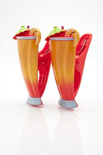 Boca Clips Strandtuchklammern – Cocktailgläser-Form