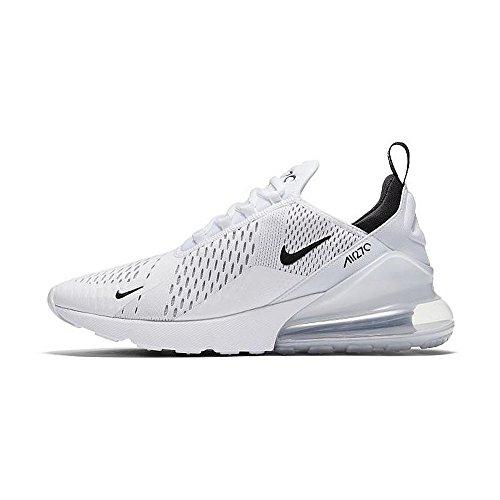 Nike Herren Air Max 270 Gymnastics Shoes, Weiß - weiß - Größe: 43 EU