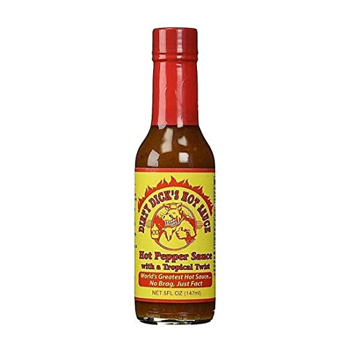 Dirty Dicks Sauce Hot 5 Ounce