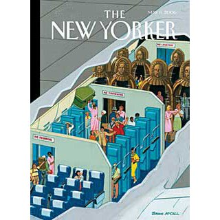The New Yorker (May 8, 2006) cover art