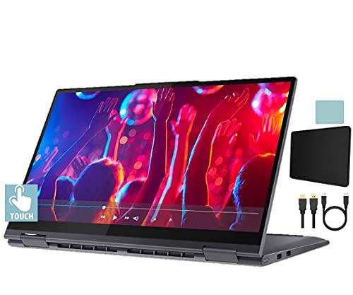 Lenovo Yoga 7i 15.6'' 2-in-1 Touch FHD (1920x1080) Laptop | 11th Gen Intel Quad Core i5-1135G7 | 8GB DDR4 | 256GB SSD | Backlit Keyboard | Fingerprint | Thunderbolt | W10 w/Mazepoly Accessories
