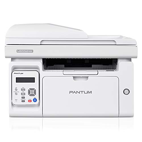 Laser Printer Scanner Copier with ADF, All-in-One Wireless Black and White Printer Print at 23ppm, Pantum M6552NW(V2U93A)