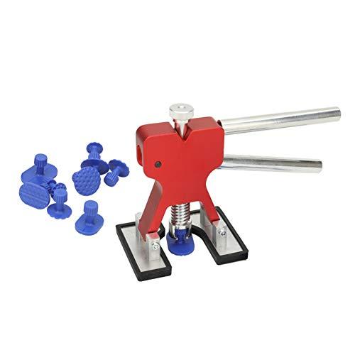 E-House Tool Set 11-delig/set zuignap gereedschap auto paintless deuken reparatie tools kit voor auto - geel rood