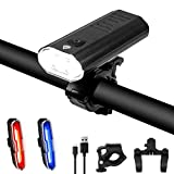Wasafire Luz Bicicleta LED Recargable USB,3000 Lumen 5200 mAh Potente...