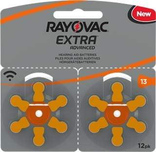 120 Rayovac Extra Advanced Nr 13 Hörgerätebatterie Zinc Elektronik