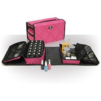 Estuche Roo Double-It para esmalte de uñas, manicura, maquillaje: Amazon.es: Belleza