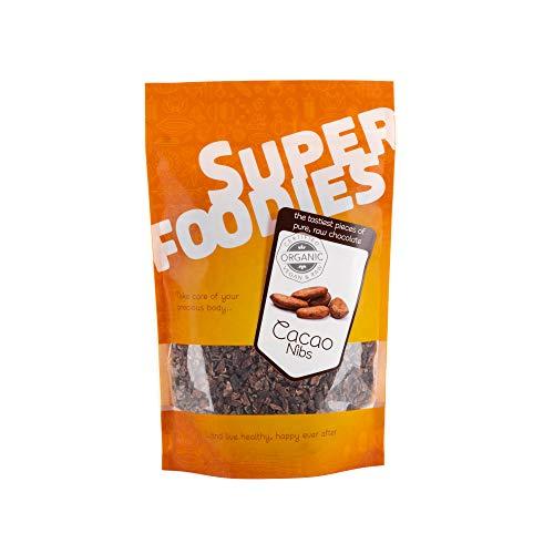 Organic Cacao Nibs by Super Foodies | Raw, Vegan, Natural | (2KG)