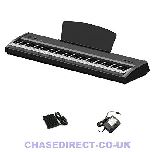 Chase P-50 Digitaal Draagbaar Piano Zwart Met 88 Note Hammer Action Keyboard