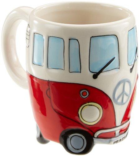 Wohnmobil Tasse in 4 versch. Farben, Farbe:rot