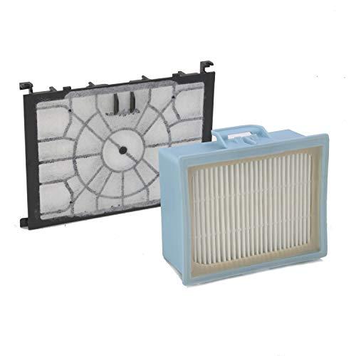 DeClean HEPA Filter + Motorfilter Ersatzteil für 00579421 00579421 Staubsauger Siemens VSZ4G331/01, Z4.0, Z7.0, Z 4.0, Z 7.0
