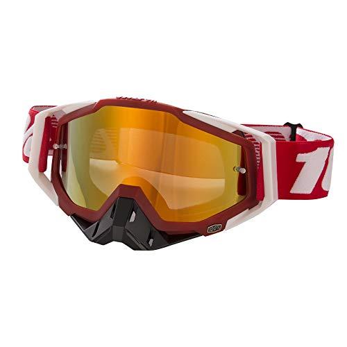 Gafas de Motocross Antivaho Gafas de Moto para Motocicleta Gafas de Esquí Anti UV Anti Viento Anti Polvo con Correa Ajustable Gafas Deportivas de Protección para Dirt Bike Racing MTB Snowboard, G