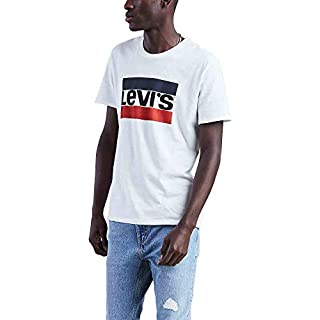Levi's Men's Graphic Tees, Sportswear Logo - White, Large (B07H49PPTH) | Amazon price tracker / tracking, Amazon price history charts, Amazon price watches, Amazon price drop alerts