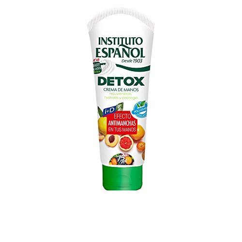 Crema de Manos Anti Manchas - Detox 75 ML - Instituto Españ