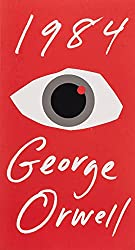 Vintage, Paint and more... 1984 a novel by George Orwell