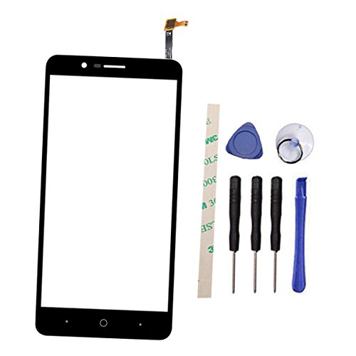 """Outer Screen Glass Digitizer Touch Screen Replacement for ZTE Blade Z Max Z982 / ZMax Pro 2 / Sequoia 6.0"""" (Not LCD Display) with Adhesive"""